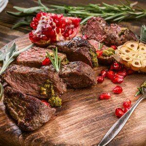 minced kangaroo meat