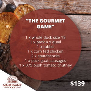The Gourmet Game